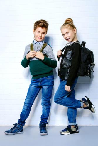 modern fashion kids